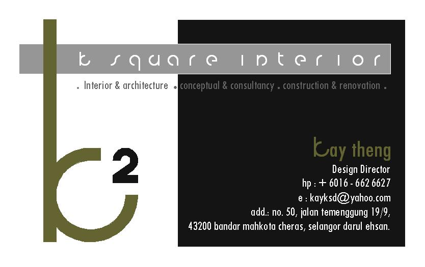 Designer Name Kay Theng Company K Square Interior